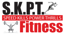 SKPT Fitness: Speed Kills Power Thrills Logo